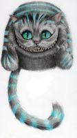 Cheshire Cat - From Tim Burton's Movie by Riuko-chan