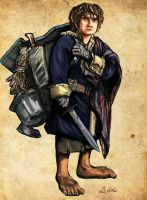 Bilbo Baggins by TheLivingShadow