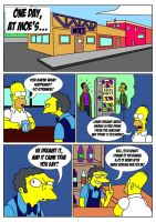 Simpson Comic Page 01 by Skywalker by kuroishin