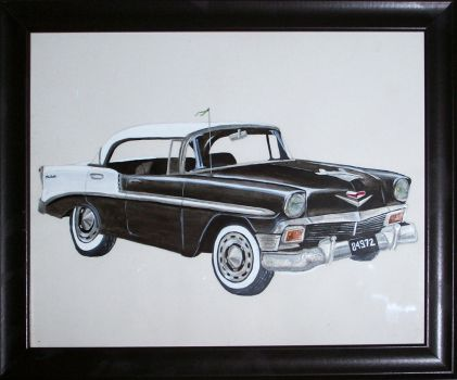 1956 Chevy by pureatheism