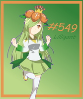 #549 Lilligant by Gamefreakgal55