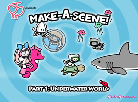 Make-A-Scene 1: Underwater by JinxBunny