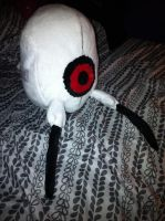 Finished Portal Turret Plush by KuroTenshi13