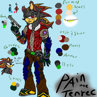Pain the Tenrec updated ref by shi562
