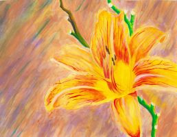 Tiger Lily Study 2 by kimberly-castello