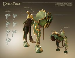 horse saddle design by raddick11