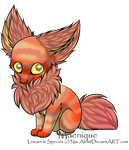 Grab Bag Adopt - 'Peaches' - therainbowtomboy by Feralx1