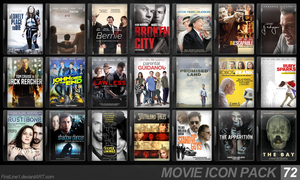 Movie Icon Pack 72 by FirstLine1