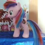 Tiara Colour - OC Pony - custom Made by CelestPapermoon