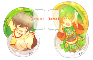 :Tama and Phim: GACHA by Chuuchichu