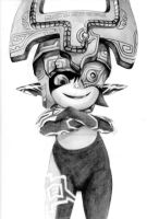 Midna Drawing (Traditional) by Final-Boss-Emiko
