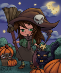 Give Me Color 2014 Halloween Contest by tagoston16