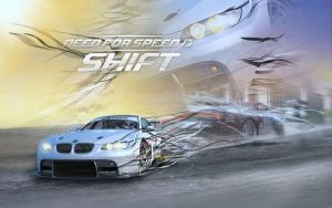 Need for Speed SHift new wall by Chris6288
