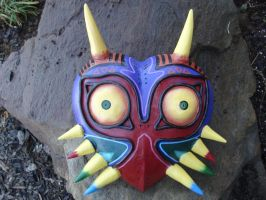 Majora's Mask by meanlilkitty