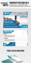 Corporate Postcard Template Vol 6 by jasonmendes