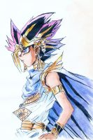 Pharaoh Atem by RedAugen