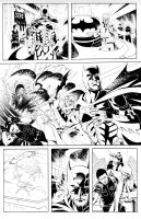 Batman vs. Predator Page 2 by John-Curtis-Ryan