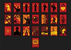 Russian Propaganda Style Tarot by FragOcon