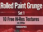 Rolled Paint Textures Set 1 by fudgegraphics