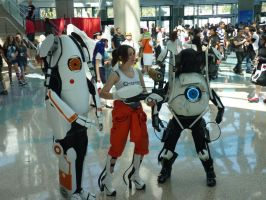 EPIC Portal 2 Cosplay by OPlover