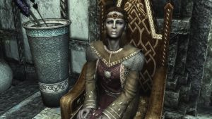 The High Queen of Skyrim? by lupusmagus