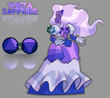 [A] - Winza Sapphire by FloofHips