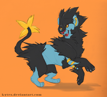 Luxray by Kytes