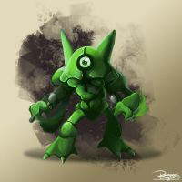 -Pokemon fusion Metakazam- by DamianDegorski