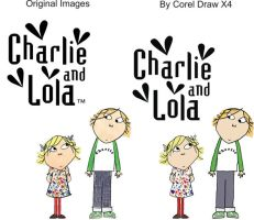Charlie and Lola Vector by Alzir