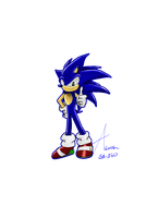 Just Sonic by Super-Aaron-360