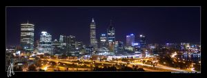 Perth City II by purplepawn