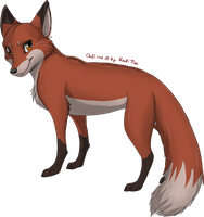 male Fox by RukiFox