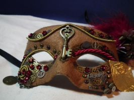 Clockwork masquerade by Eldai