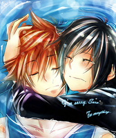 +Sora and Xion+ by taka-maple