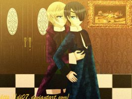 Alois and Ciel by DI07