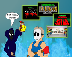 Cloaked Critic Reviews Eddsworld Horror Comedies by TheUnisonReturns