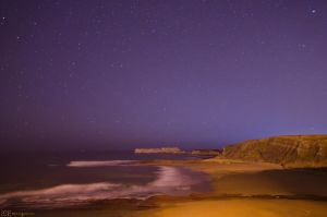 Starry coast. by MarioGuti