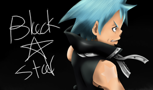 BLACK STAR!! by LilachSigal