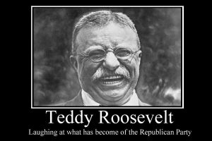 Teddy Roosevelt demotivator by Party9999999