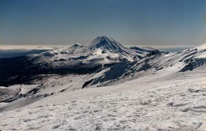 Mount Doom with snow 2 by Applemac12