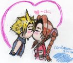 Kissy Chibis by cleris4ever
