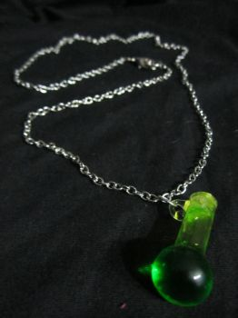 Matinee Length 'Mystery Vial' Necklace by SnowBunnyStudios