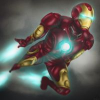 IRON MAN by Sparkleee-Sprinkle