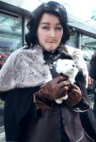 Jon Snow Cosplay by yohlenyaoilover
