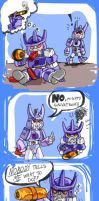 Poor Cyclonus by CatusSnake