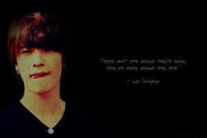 Lee Donghae Wallpaper by emmyxogats