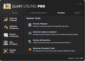 Glary Utilities Metro Skin by RamonXick