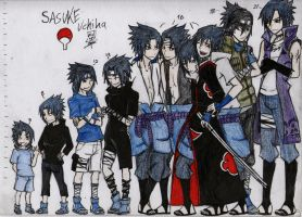 ::SASUKE.U 3 TO 21:: by Stray-Ink92
