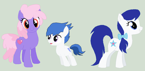 Other Pony Relatives by spongefan12