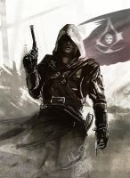 Captain Edward Kenway by Kalberoos
